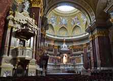The Basilica of Budapest Stock Images