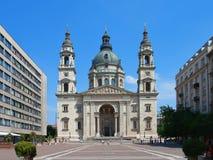 basilica budapest s stephen Royaltyfria Bilder