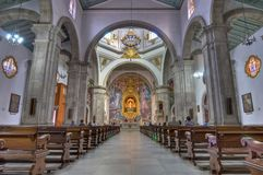 Basilica at Candelaria, Tenerife Island Royalty Free Stock Photo