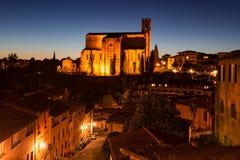 Basilica Cateriniana San Domenico Royalty Free Stock Photography