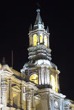 Basilica Cathedral of Arequipa, Peru Royalty Free Stock Photography
