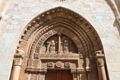 Basilica Cathedral of Conversano. Puglia. Italy. Royalty Free Stock Photography