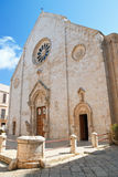 Basilica Cathedral of Conversano. Puglia. Italy. Royalty Free Stock Photos