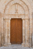 Basilica Cathedral of Conversano. Puglia. Italy. Royalty Free Stock Images