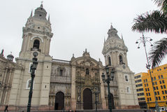 Basilica Cathedral of Lima, Peru Stock Photo