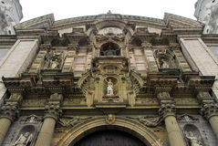 Basilica Cathedral of Lima, Peru Royalty Free Stock Photography