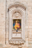 Basilica cathedral of Martina Franca. Puglia. Italy. Detail of Basilica cathedral of Martina Franca. Puglia. Italy stock photos