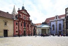 Basilica and Cathedral of St. George. Prague Stock Photography