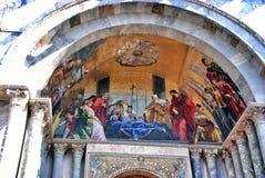 Basilica cathedral in Venice Stock Photos