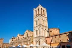 Basilica Cattedrale di San Giorgio in Ferrara Stock Photography