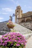 Basilica of Cefalu - Sicily - Italy Royalty Free Stock Photos