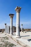 Basilica in Chersonesos. La Crimea. Immagini Stock Libere da Diritti