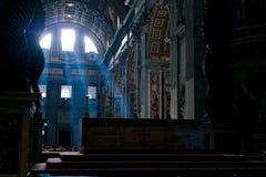 Basilica (chiesa) di San Pietro in Vaticano Fotografia Stock