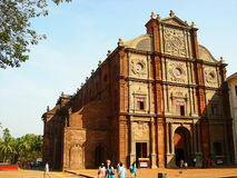 Basilica Church. The Historic Basilica Church from South Goa, India Stock Image