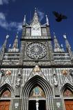 Basilica Church Bird. Las Lajas Sanctuary Colombia Basilica Church Bird Royalty Free Stock Photos