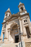 Basilica Church of SS. Cosma e Damiano. Alberobello. Puglia. Italy. Royalty Free Stock Photography