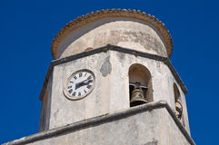 Basilica church of St. Biagio. Maratea. Basilicata. Italy. Stock Photography