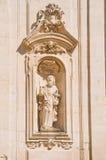 Basilica church of St. Martino. Martina Franca. Puglia. Italy. Royalty Free Stock Photography
