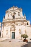 Basilica church of St. Martino. Martina Franca. Puglia. Italy. Royalty Free Stock Photo