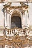 Basilica church of St. Martino. Martina Franca. Puglia. Italy. Royalty Free Stock Image