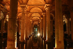 The Basilica Cistern Royalty Free Stock Images
