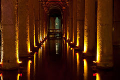 The Basilica Cistern Stock Photo