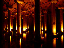 Basilica Cistern Stock Photos