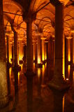The Basilica Cistern Royalty Free Stock Photos
