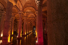 Basilica Cistern in Istanbul Stock Photos