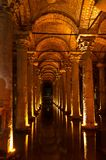 Basilica Cistern,Istanbul Royalty Free Stock Photography