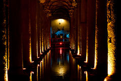 Basilica Cistern Istanbul Stock Images