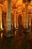Basilica Cistern in Istanbul City Royalty Free Stock Photo