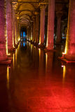 Basilica cistern, Istanbul Royalty Free Stock Image