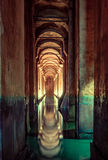 Basilica Cistern in Istanbul Royalty Free Stock Photo