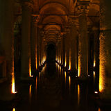 Basilica Cistern. In Istanbul Turkey Royalty Free Stock Image