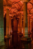 Basilica Cistern Istanbul Turkey Stock Photo