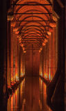 Basilica Cistern Istanbul Turkey Royalty Free Stock Photos
