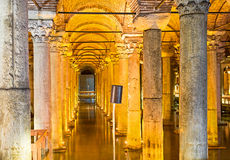 The Basilica Cistern royalty free stock photo