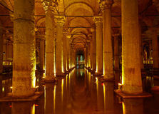 Basilica Cistern Stock Photography