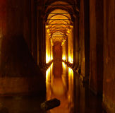 Basilica Cistern Royalty Free Stock Photos