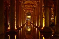 Basilica Cistern Royalty Free Stock Image