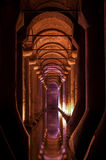 Basilica Cistern in Istanbul, Turkey Royalty Free Stock Photos