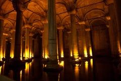 The Basilica Cistern Istanbul, Turkey Royalty Free Stock Image