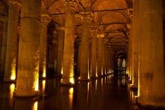 The Basilica Cistern Istanbul, Turkey Stock Photos