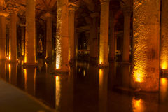Basilica Cistern Royalty Free Stock Image