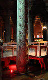 Basilica cistern, Istanbul Royalty Free Stock Images