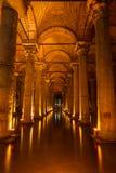 Basilica Cistern Royalty Free Stock Photography