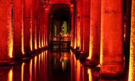 The Basilica Cistern Sunken Palace Royalty Free Stock Image
