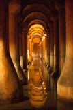 The Basilica Cistern Stock Photography