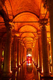 Basilica Cistern Royalty Free Stock Images